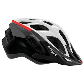 MET Funandgo Helm white/black/red